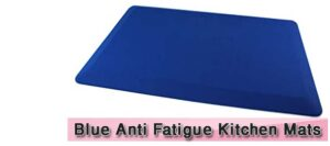 Blue Anti Fatigue Kitchen Mats
