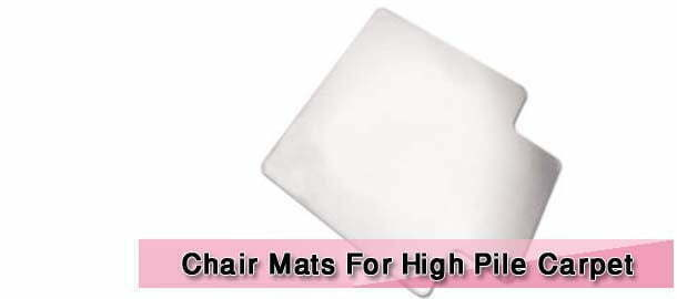Chair Mats For High Pile Carpet