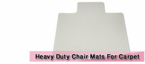 Heavy Duty Chair Mats For Carpet