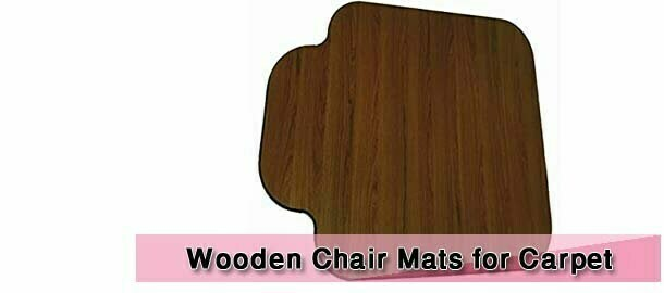 Wooden Chair Mats for Carpet