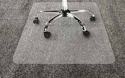 How do we rate those chair mats for high pile carpet